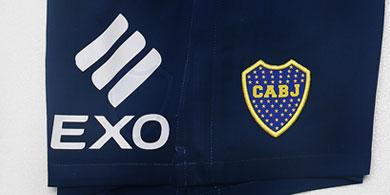 EXO, el primer sponsor tecnológico de Boca Juniors