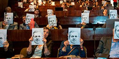 Facttic particip� del mega evento en defensa de Juli�n Assange