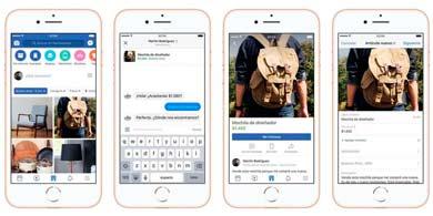 Facebook lanzó su función de e-commerce en Argentina