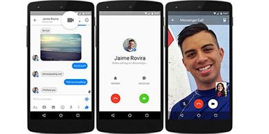 Las videollamadas de Facebook llegan a Chile