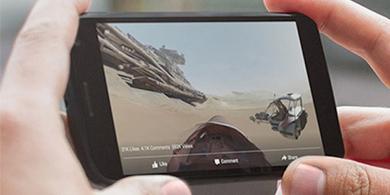 As� se ven los nuevos videos en 360� de Facebook