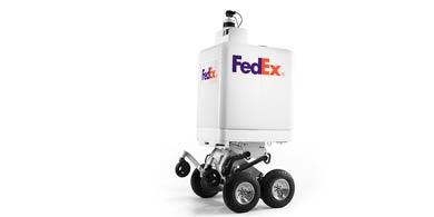 FedEx comienza las pruebas para su robot de delivery