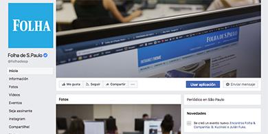 Folha, el diario más grande de Brasil, se va de Facebook
