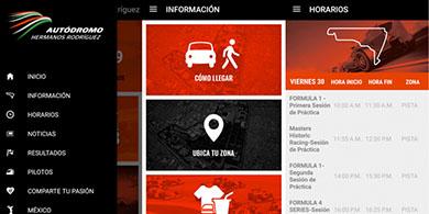 El Gran Premio de la Fórmula 1 ya tiene su app en México