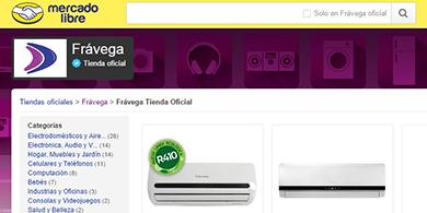 Fr�vega lanza portal en MercadoLibre y apuesta al e-commerce