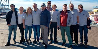 Vertiv, Free y sus canales viajaron a Chile para participar del kick off