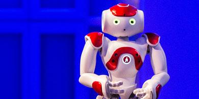 Gardelito, el robot de IBM Argentina que