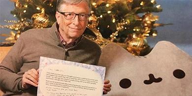 ¿Qué regaló Bill Gates como amigo invisible en Navidad?