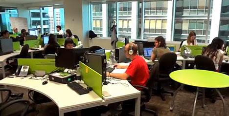 C mo son las nuevas oficinas de globant canalar for Google argentina oficinas