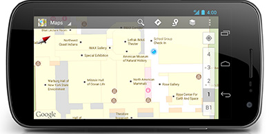Google lanzó sus mapas interiores en México