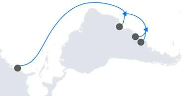 Firmina, el cable de Google que unirá a la costa este de los Estados Unidos con Las Toninas