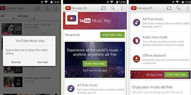 Google prepara YouTube Music Key, su servicio de m�sica por streaming