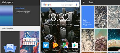 Google lanz� Wallpapers, la app para rejuvenecer tu tel�fono