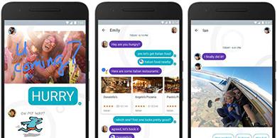 C�mo es Google Allo, la nueva competencia de WhatsApp?