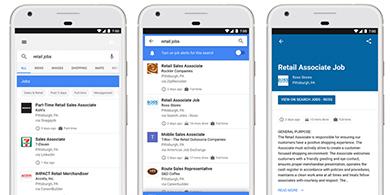 Google lanzó su buscador de trabajo en Argentina