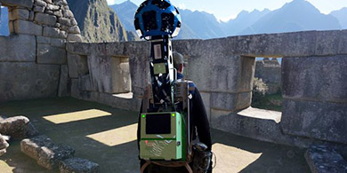 Google Street View recorre Machu Picchu