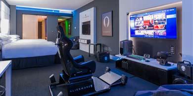 Alienware Room, la nueva habitación gamer de Hilton en Panamá