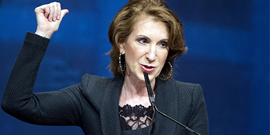 Carly Fiorina, ex CEO de HP, quiere ser presidenta en 2016
