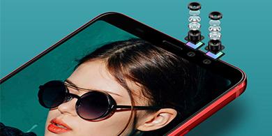 HTC U11 Eyes, un gama media con doble cámara frontal y súper batería