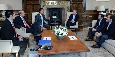 El CEO de Huawei visitó a Macri y anunció inversiones en I+D