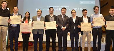 Huawei eligió a los ocho jóvenes colombianos que viajarán a China