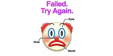 Con un payaso triste, Huawei se burló del iPhone X y su Face ID