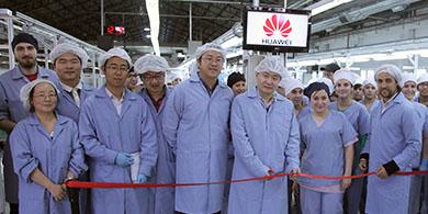 Huawei y Newsan producir�n smartphones 4G en el pa�s