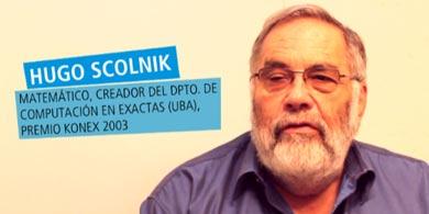 �Qu� opina Hugo Scolnik sobre la Ciencia y Tecnolog�a en Argentina?