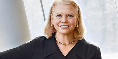 Trump nombra a la CEO de IBM como asesora de negocios