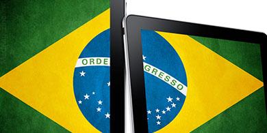 Las ventas de tablets caen un 20% en Brasil
