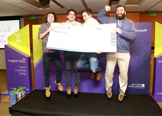 ResCue, el proyecto que representará a la Argentina en ImagineCup