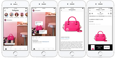 Instagram se transforma en un gran shopping