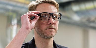 Vaunt, los anteojos inteligentes de Intel que se ven normales