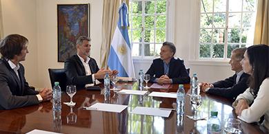 Iplan anunció a Macri una inversión de 1.000 millones de pesos