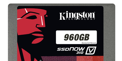 Kingston lanz� una unidad de estado s�lido de 960GB