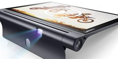 Lenovo llev� su tablet con proyector a un nuevo nivel