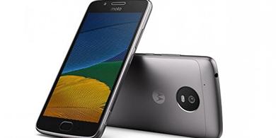 Recién presentado, el Moto G5 de Lenovo ya está en México