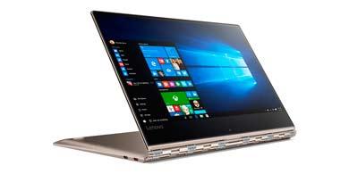 Lenovo anunció la llegada de la Yoga 910, su portátil con cuatro modos de uso