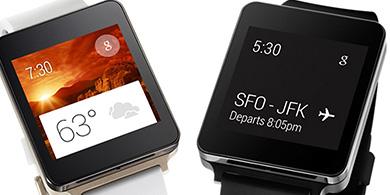 LG lanza su reloj inteligente G Watch en Argentina