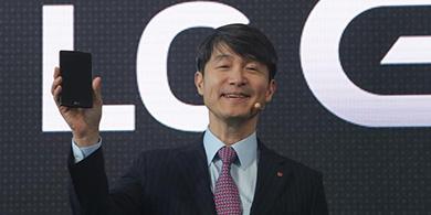 Con cuero y curvas, LG lanz� su esperado G4
