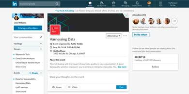 LinkedIn lanza Eventos para no perder el