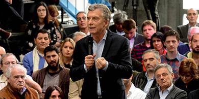 Macri presentó las SAS: