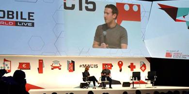 Zuckerberg en MWC: