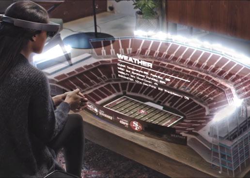 As� veremos deportes en el futuro, seg�n Microsoft