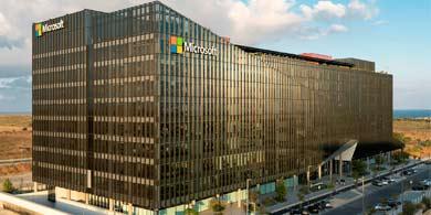 ¿Cómo es el impactante campus que Microsoft acaba de inaugurar en Herzliya, Israel?