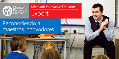 Microsoft premia a docentes que usen tecnología en el aula