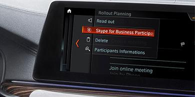 Microsoft y BMW se alían para poner Skype en tu auto