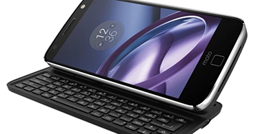 Un teclado QWERTY para smartphones, lo nuevo de Motorola