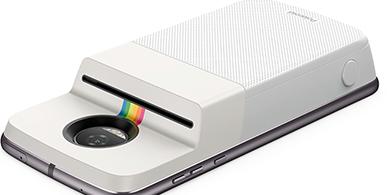 Así es el nuevo Moto Mod que transforma tu teléfono en una Polaroid