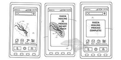 Motorola patentó una pantalla que se repara a sí misma